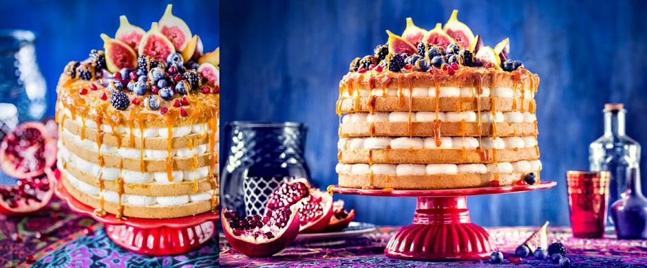 Ethno-HochzeitFarbenpracht trifft Torte