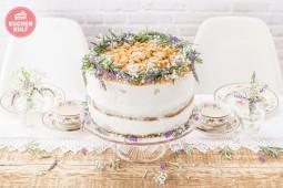"""Eine Hochzeitstorte für die """"Modern Folk""""-Hochzeit"""