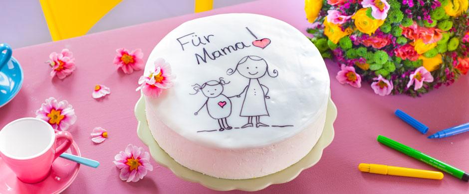 Tortenkunstzum Muttertag