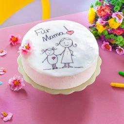 Torte zum Muttertag Rezept und Idee für eigene Gestaltung