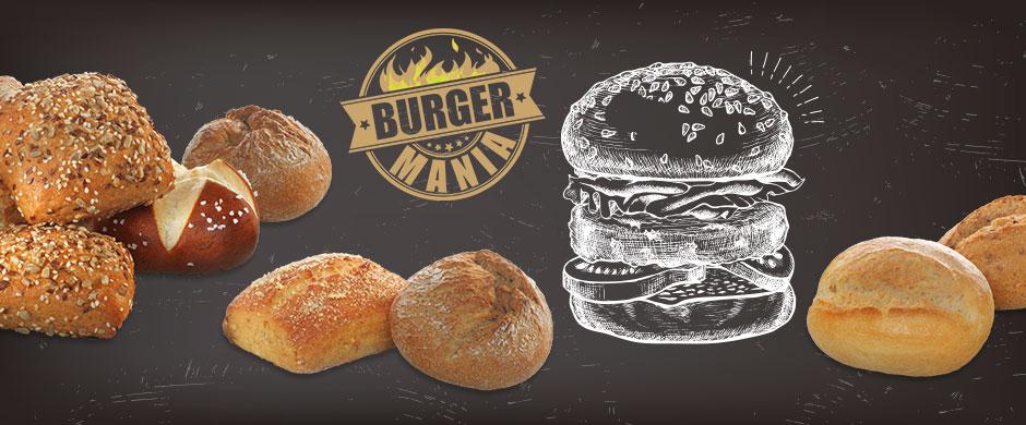 Welcome to Burger-ManiaEntdeckt jede Woche neue Rezepte!