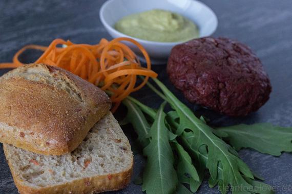 Veggi Burger Deluxe Coppenrath & Wiese Landbrötchen vegan