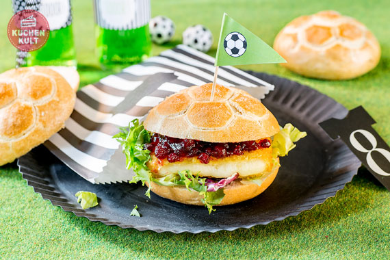Veggi Burger Coppenrath und Wiese Camembert Preiselbeer