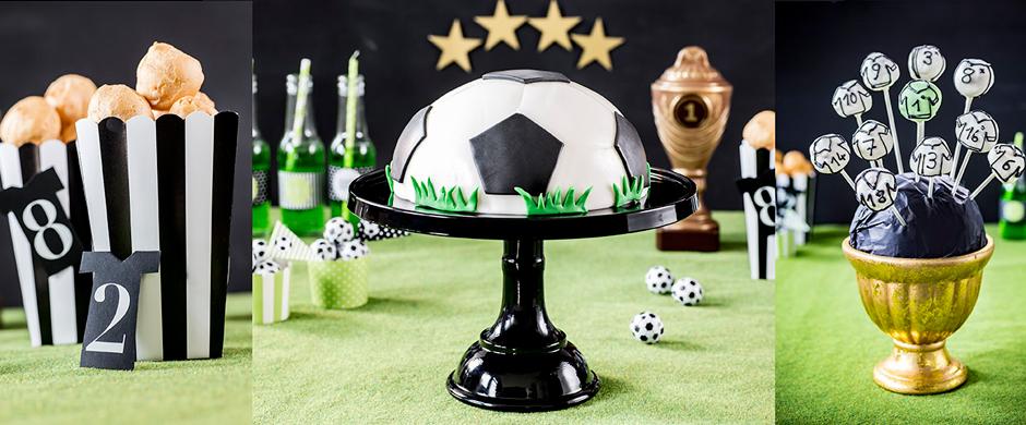 Fußball-Party 2016:Kuchen und Torten in Top-Form!