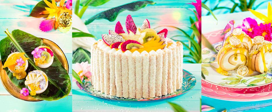 Tropical CakesAlles tutti mit viel frutti!