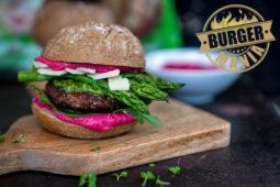 Galloway Burger mit Spargel: Unsere BURGER-MANIA!