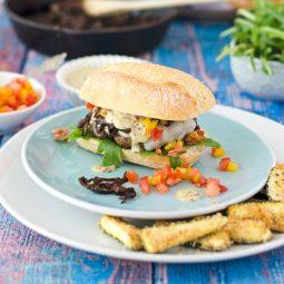 BURGER-MANIA: Lamm Burger mit Estragon-Senfsauce 4