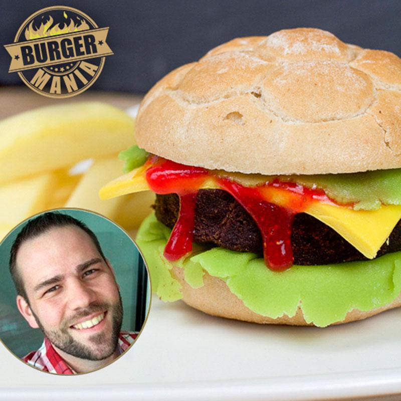 Cake Pop Burger Patties Rezept bei unserer BURGER-MANIA - Süßer Burger 1