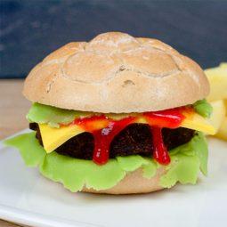 Cake Pop Burger Patties Rezept bei unserer BURGER-MANIA - Süßer Burger 3