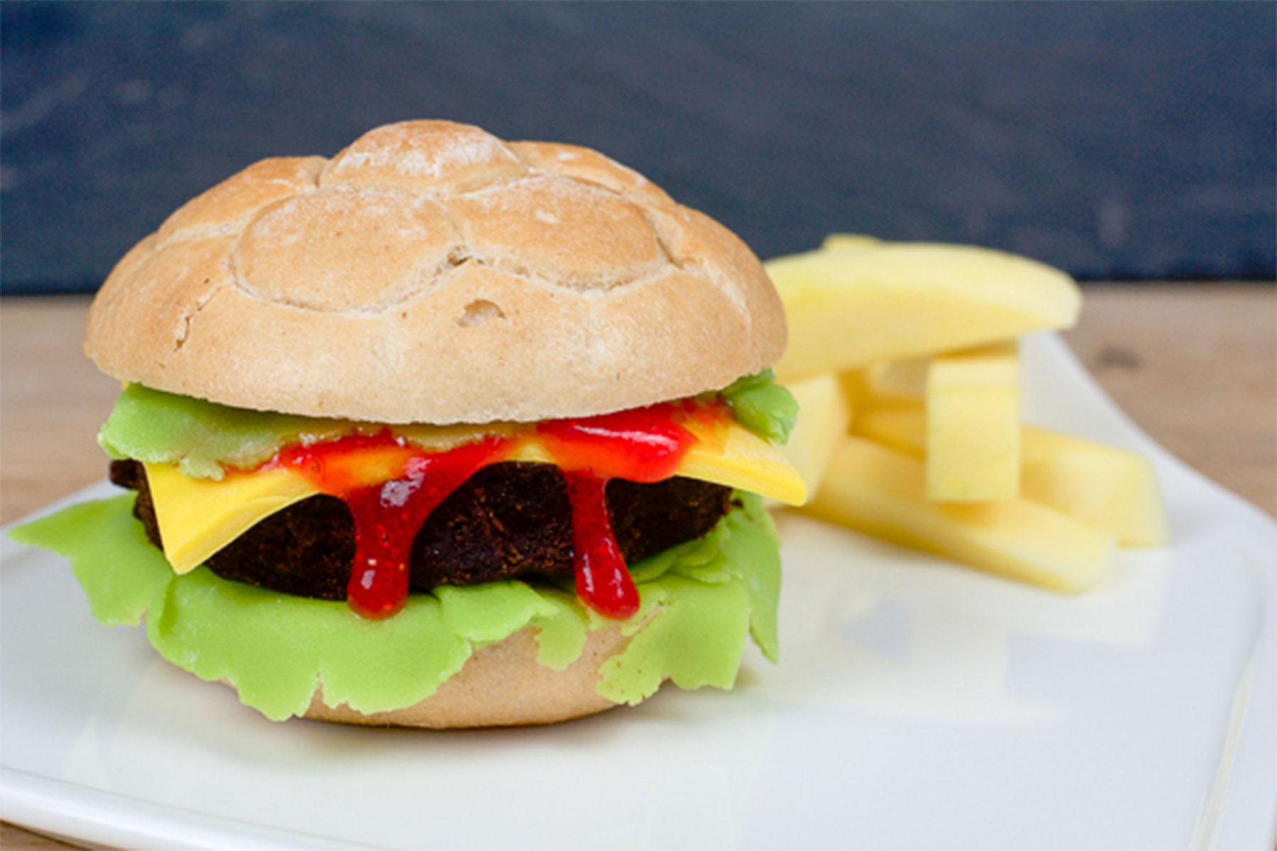 Cake Pop Burger Patties Rezept bei unserer BURGER-MANIA - Süßer Burger