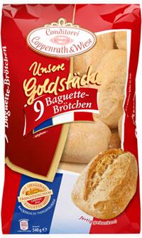Coppenrath&Wiese Unsere Goldstücke Baguette Brötchen Verpackung