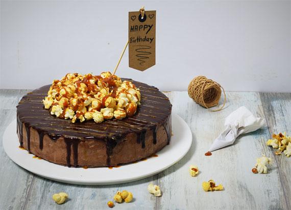 Coppenrath & Wiese Schokoladen-Sahne-Torte, DIE JUNGS kochen und backen, Blogger-Aktion