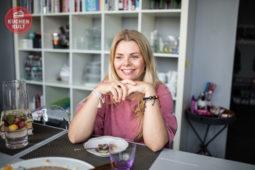 Auf ein Stück Kuchen bei: Anne-Sophie Briest