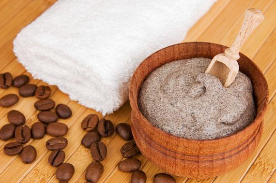 Kaffeesatz Tricks Beauty Peeling