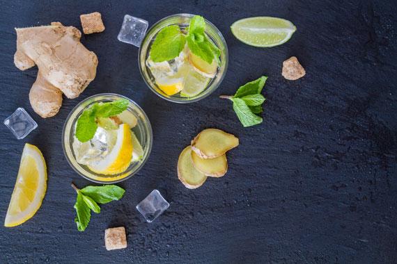 Rezepte Ingwer, Zitrone