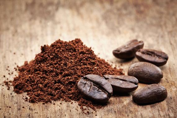 Kaffeepulver Tricks