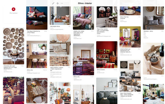 Ethno Pinterest Einrichtungsideen
