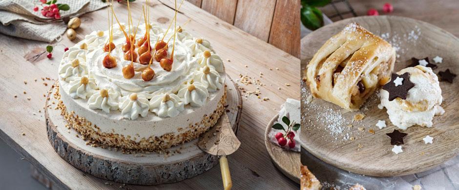 Advent:Einfache Torten- , Strudel- und Dessertrezepte für die Weihnachtszeit