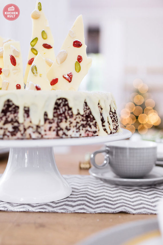 Coppenrath und Wiese Stracciatella Kirsch Torte selfmade Schokolade selber machen