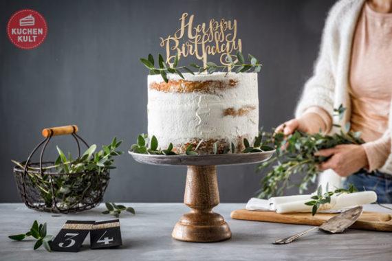 Kuchen ohne Backen Layer Cake