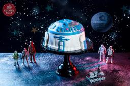 R2-D2-Torte zum STAR WARS – Kindergeburtstag