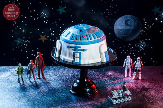 Kindergeburtstagstorte als R2-D2, Coppenrath & Wiese Benjamin Blümchen Torte