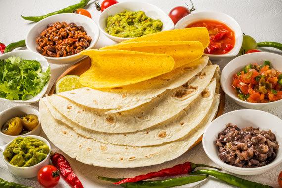Tortillas Tacos Mexican Quisine