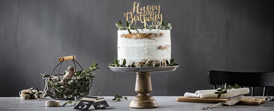 Eine Torte zum GeburtstagSo einfach gelingt sie!