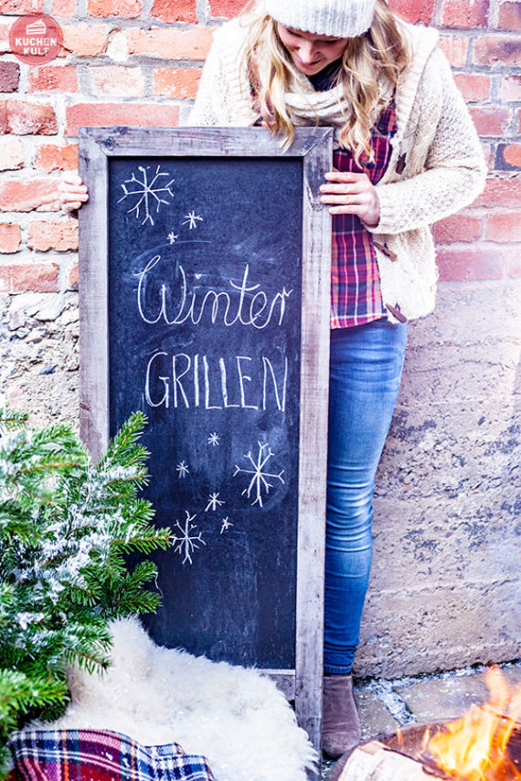 Wintergrillen Grillen im Winter Rezepte Ideen Brötchen Coppenrath & Wiese Streetfood