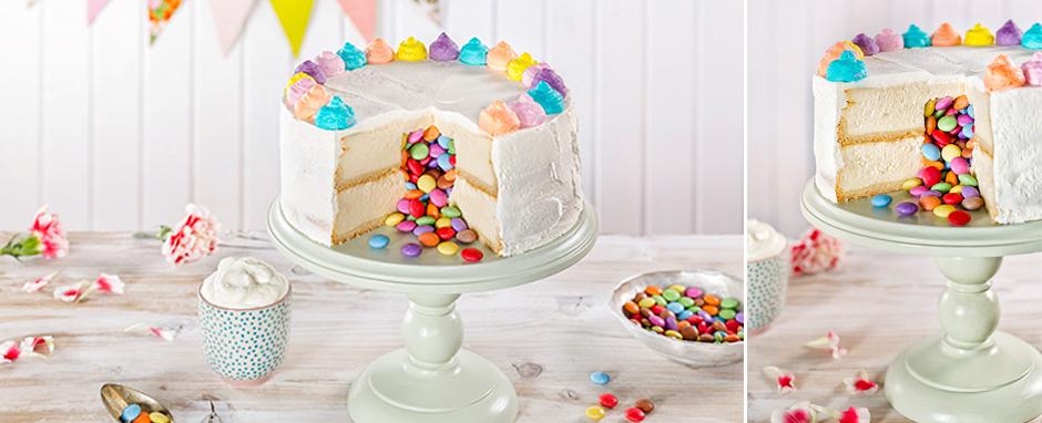 ÜberraschungskuchenSo sieht unser Piñata-Cake aus!