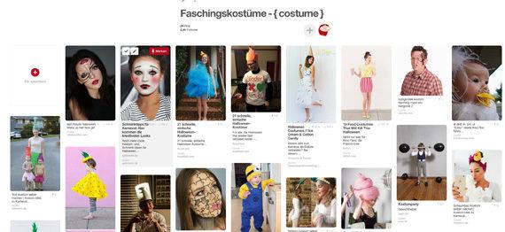 Faschingskostüme selbst gemachte Kostüme Verkleidung Ideen Karneval