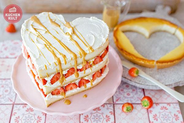 valentinstag triple cheesecake erdbeer toffee k sekuchen rezept. Black Bedroom Furniture Sets. Home Design Ideas