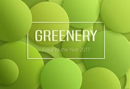 """Die Trendfarbe des Jahres ist """"Greenery"""""""