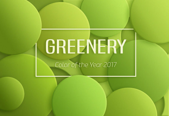 Trendfarben 2017 Greenery