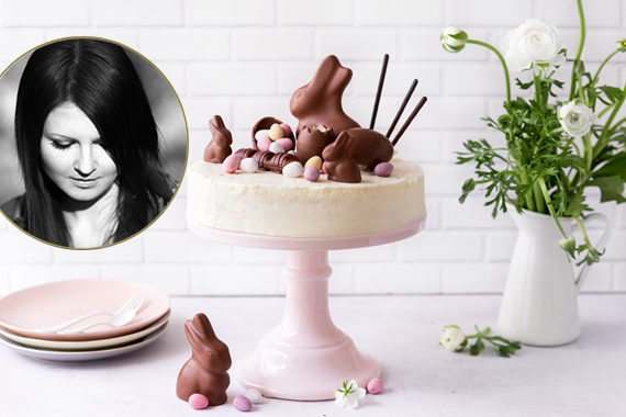 Ostertorte Torte Ostern Vera Wohlleben nicest things Black & White Torte einfaches Rezept Coppenrath & Wiese