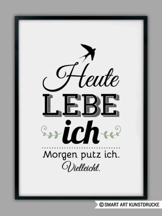 Elegant Wandbild Spruch Lustig Poster Mit Text