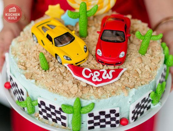 Rennfahrer Torte  - rasend schnell gemacht! [Portfolio]