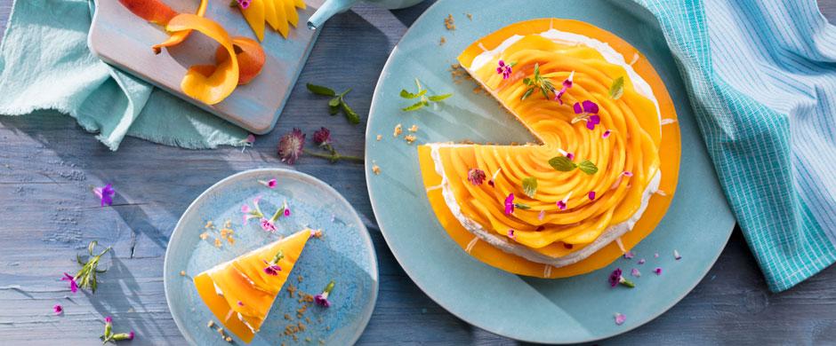 Mango-Rose?So leicht gelingt das Tortentopping!