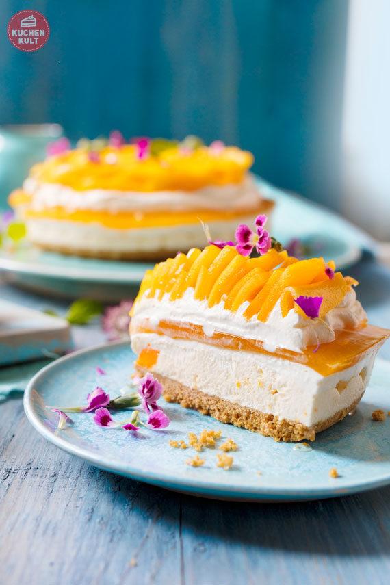 Mango Rose Mangorose Torte Mangotorte einfach Rezept