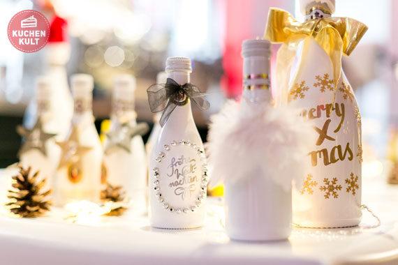 Blogger-Event #tasteofdecember Coppenrath & Wiese, Dr. Oetker, Henkell, Sektflaschen DIY zu Weihnachten