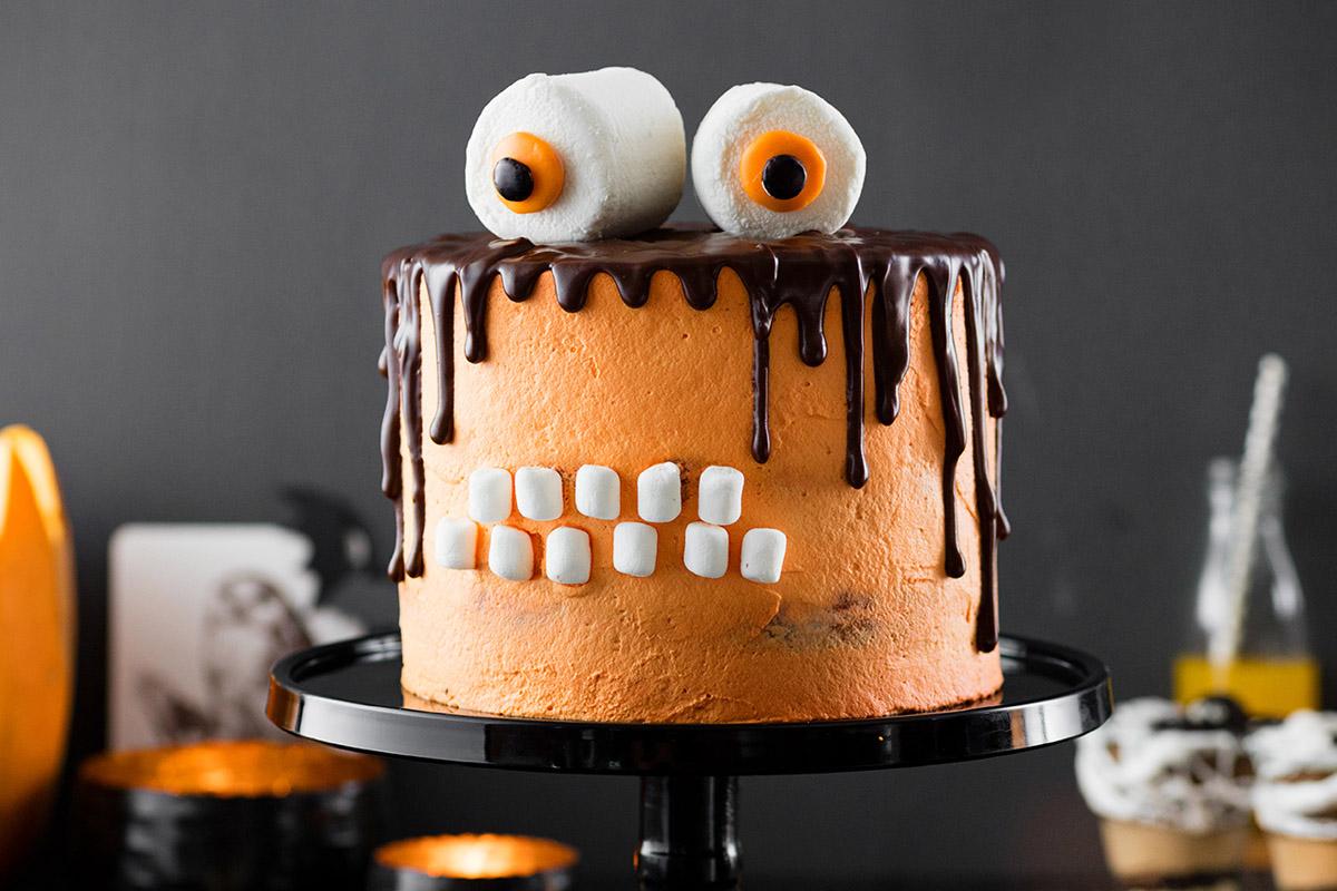 Monstertorte Rezept Halloween Snacks Torte Selber Machen