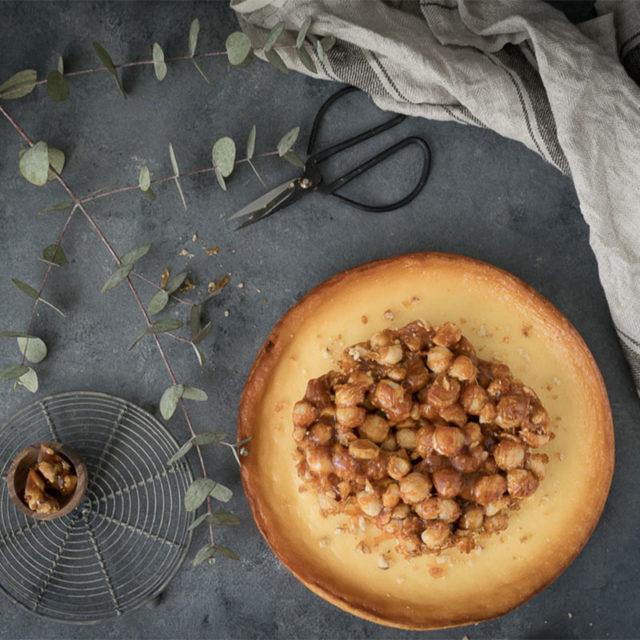 Skandalös simpel: Käsekuchen mit Macadamia-Nüssen 1