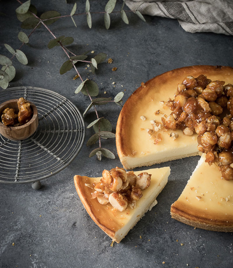Skandalös simpel: Käsekuchen mit Macadamia-Nüssen 2