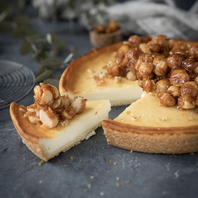 Skandalös simpel: Käsekuchen mit Macadamia-Nüssen 3