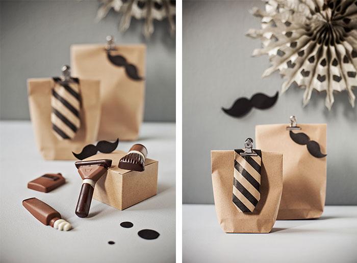 Dekoobjekte für Männertorte zum Geburtstag mit Bart