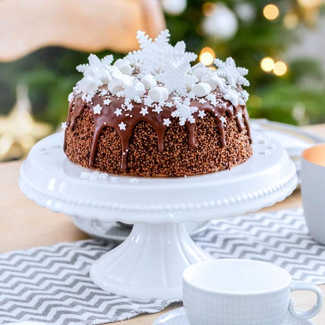 Weihnachtstorte Rezept und Inspiration mit Schokolade
