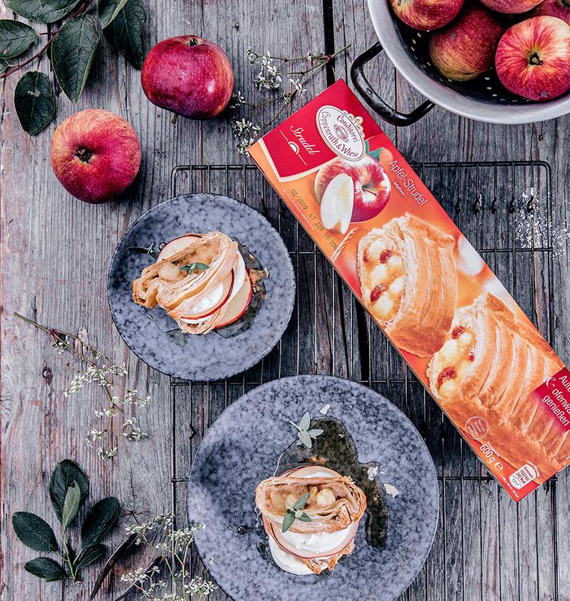 Zutaten Apfelstrudel für den ofenwarmen Genuss