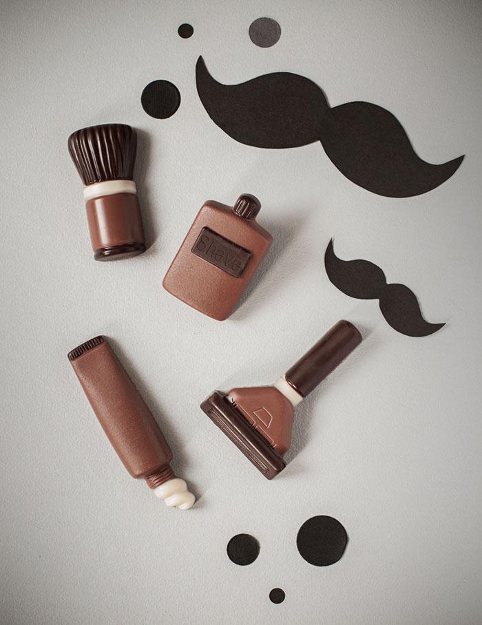 Zutaten Deko für Männer Geburtstagstorte mit Bart