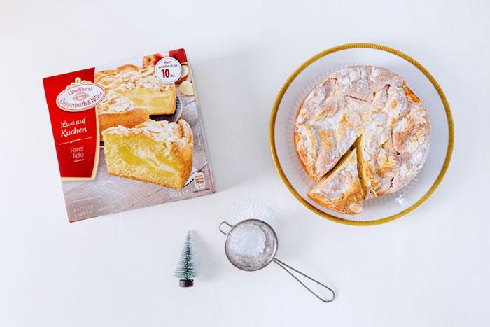 Zutaten Weihnachtskuchen als Dekoidee zum selbermachen