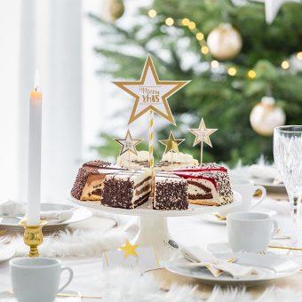 Weihnachten Rezept und Inspiration für Torten und Dekoration